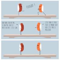Sushi saumon VS sushi thon