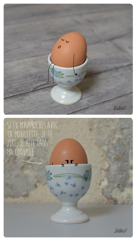 63 - L'œuf pourri