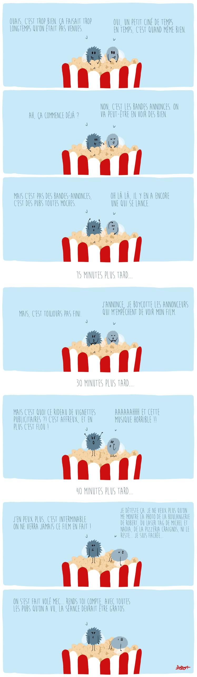 82 - Les pubs au cinéma