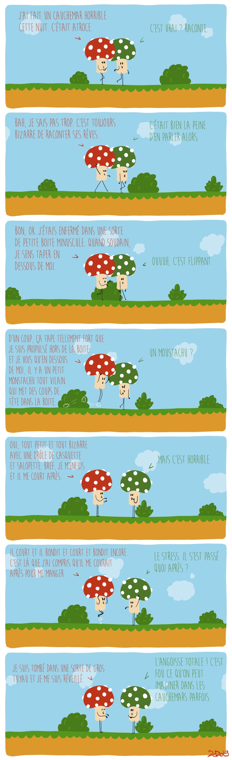 111 - À quoi rêvent les champignons ?