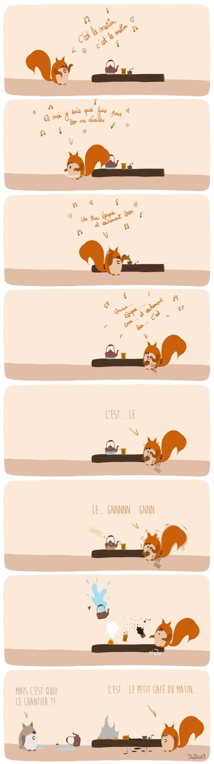 127 - La chanson du café