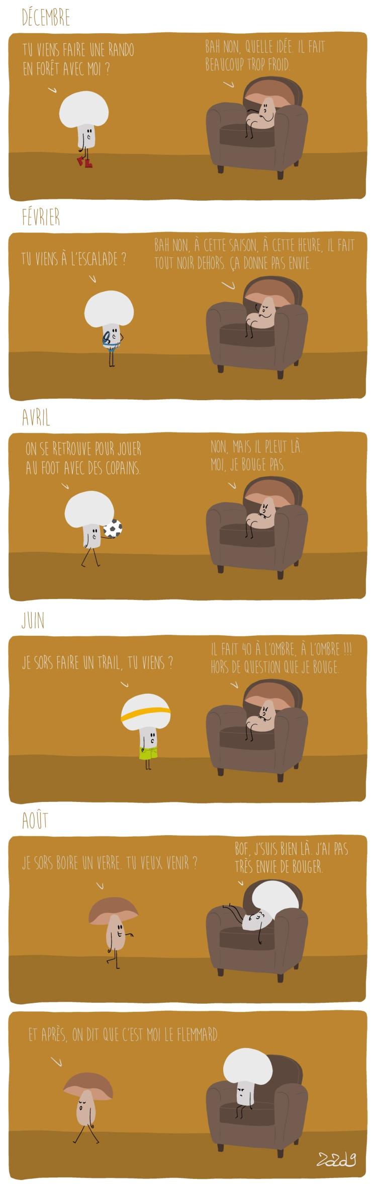 136 - Le cycle de la flemme